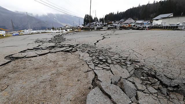 רעידת אדמה ביפן - איך ניתן לחזות דבר שכזה?  (צילום: AFP)