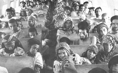 Yemen's Jews being airlifted to Israel in 1949-50 (Photo: Wikimedia Commons)