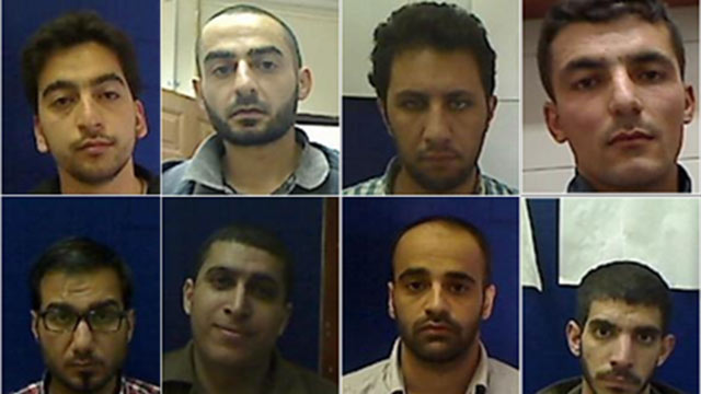 Hamas cell in West Bank (Photo: Shin Bet)