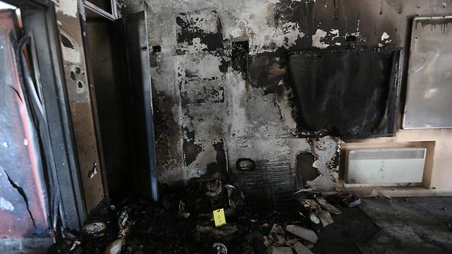 Damage caused to classroom (Photo: Gil Yohanan) (Photo: Gil Yohanan)