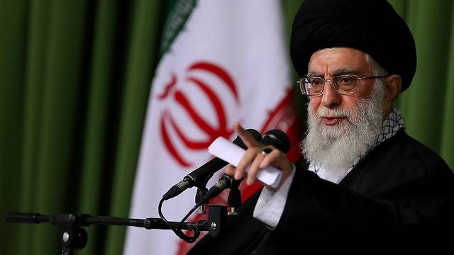 Ayatollah Khamenei. Determined to safeguard the regime (Photo: AFP)