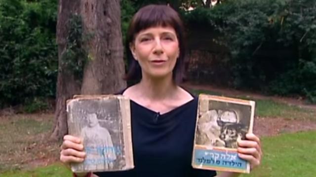 הספרים שתמיד נשארים - דבורית שרגל עם הספרים של אלה קרי ונוריקו-סאן