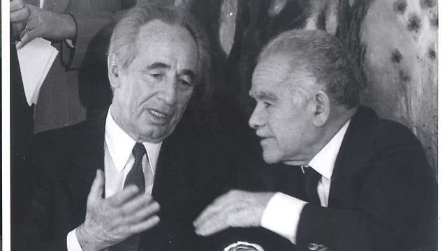 Rabin did not like Peres' attempt to overthrow Shamir and take over the government, coining the name The Dirty Trick. (Photo: Zoom 77)
