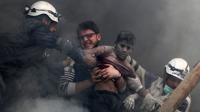 Syrian death toll crosses 210,000 (Photo: Reuters) (צילום: רויטרס)