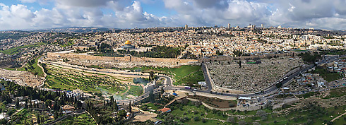 An aerial view of Jerusalem (Photo: Ittay Bodell)