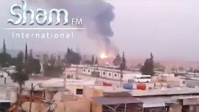 Strike in Damascus attributed to Israel.