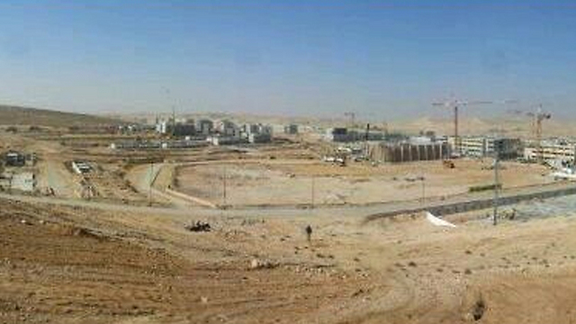 """עיר הבה""""דים. דירות חדשות ומקומות עבודה חדשים (צילום: בראל אפרים)"""