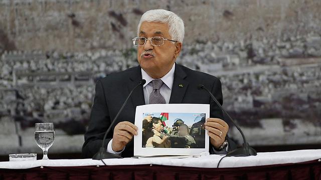 Palestinian President Abbas (Photo: Reuters) (Photo: Reuters)