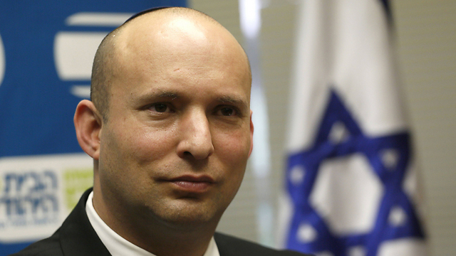Bayit Yehudi Chairman Naftali Bennett (Photo: AFP)