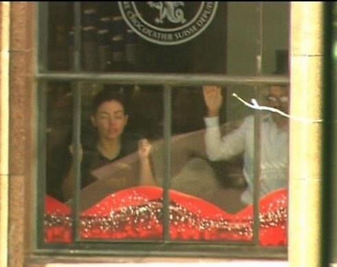 Hostages inside cafe