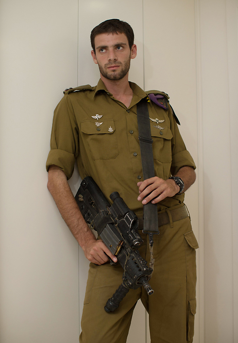 Lieutenant Eitan Fund (Photo: Ohad Zwigenberg)
