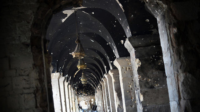 Umayyad Mosque in Aleppo (Photo: AFP)