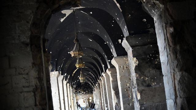 Umayyad Mosque in Aleppo (Photo: AFP)