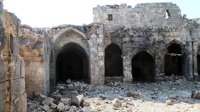Crac des Chevaliers castle in Homs (Photo: AFP)