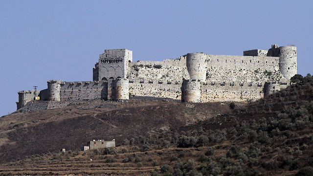 Crac des Chevaliers castle in Homs (Photo: AFP)
