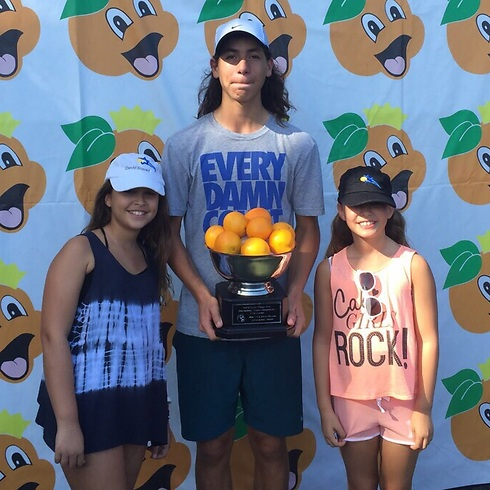 Oliel wins Junior Orange Bowl competition (Photo: Israel Tennis Association)