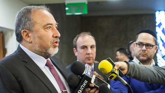 Foreign Minister Avigdor Lieberman  (Photo: Emil Salman)