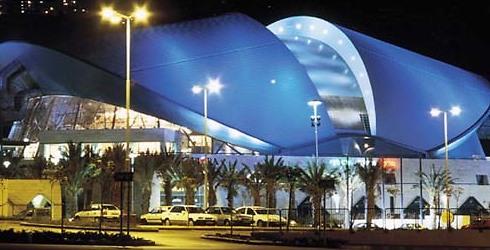 מרכז הקונגרסים בחיפה. גב של צב