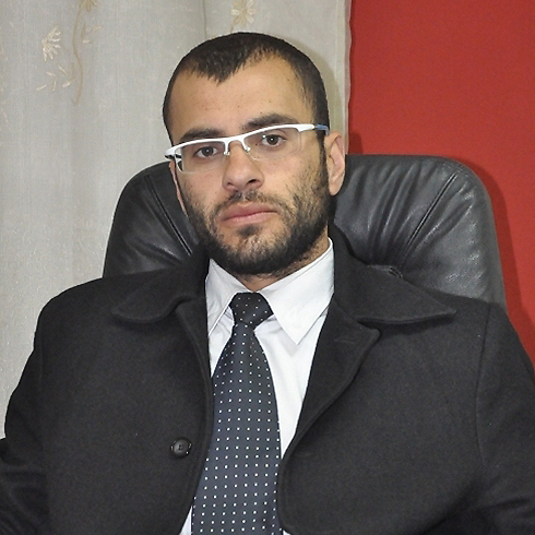 Lawyer Adnan Al a-Din, the 'Islamic State's chief of staff in Palestine'. (Photo: Alarab.net)