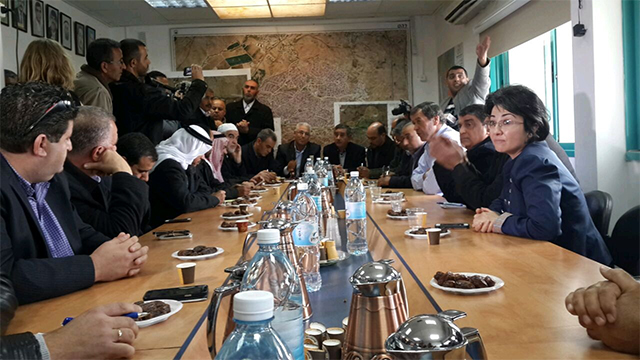 ועדת המעקב של ערביי ישראל בישיבתה היום