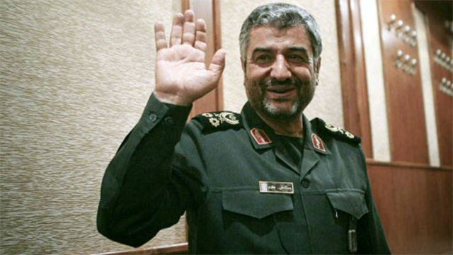 IRGC commander Mohammad Ali Jafari (Photo: Reuers)