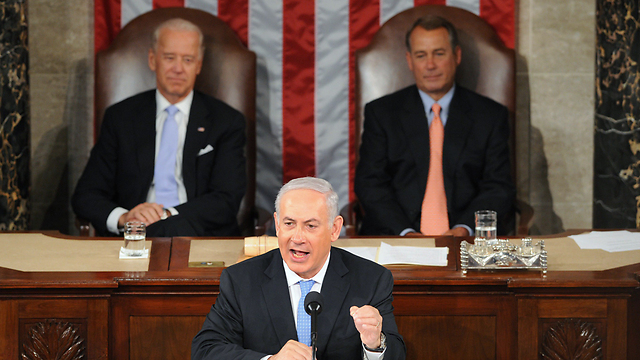 Previous Netanyahu speech to Congress. (Photo: AFP)
