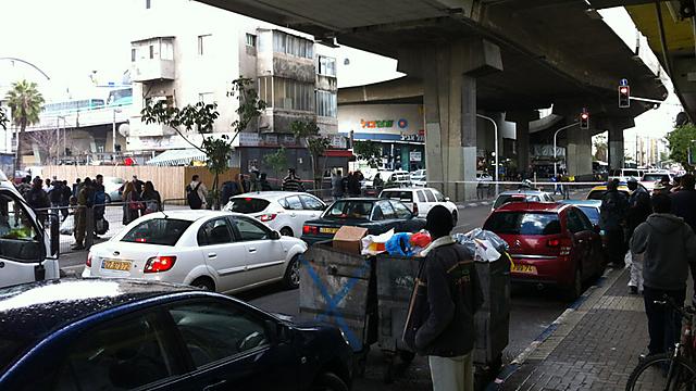 אזור התחנה המרכזית החדשה בתל-אביב. ארכיון (צילום: מושיקו חדד)