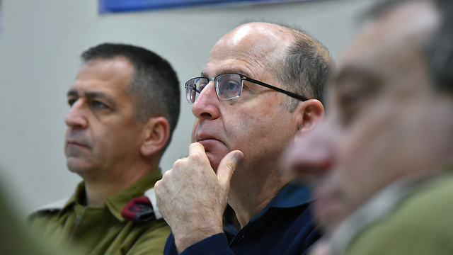 Defense Minister Moshe Ya'alon (Photo: Defense Ministry)