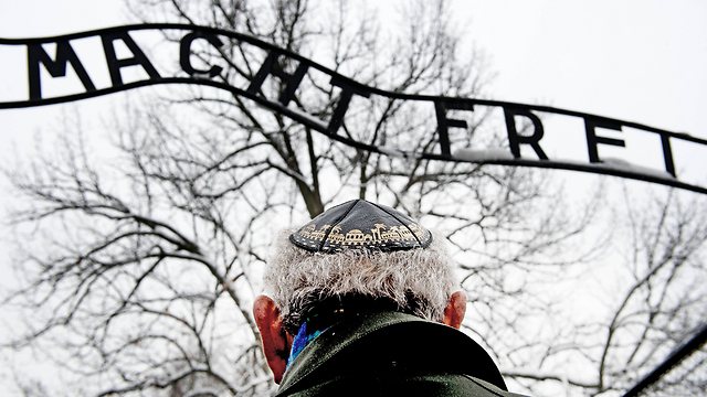 Holocaust survivor at Auschwitz for ceremony marking 70th anniversary of camp's liberation (Photo: MCT)