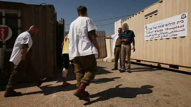 IDF: Working on implementation of Magen program to deal with mental health issues (Photo: Elad Gershgoren)