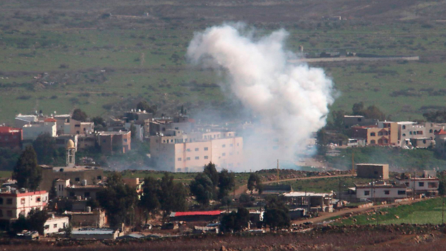 IDF shelling south Lebanon (Photo: Reuters)