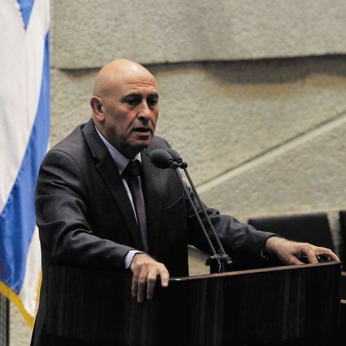 MK Bassal Ghattas (Photo Atta Awisat)