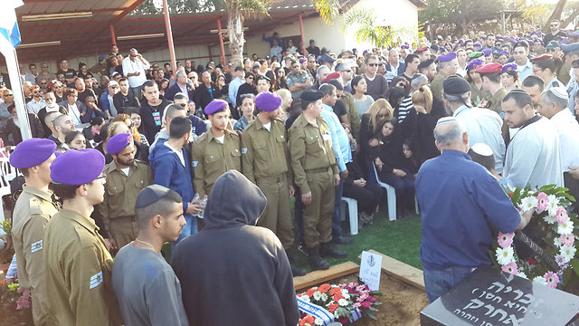 Staff Sergeant Dor Nini laid to rest (Photo: Roi Idan)