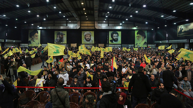 Hezbollah convention (Photo: Reuters)