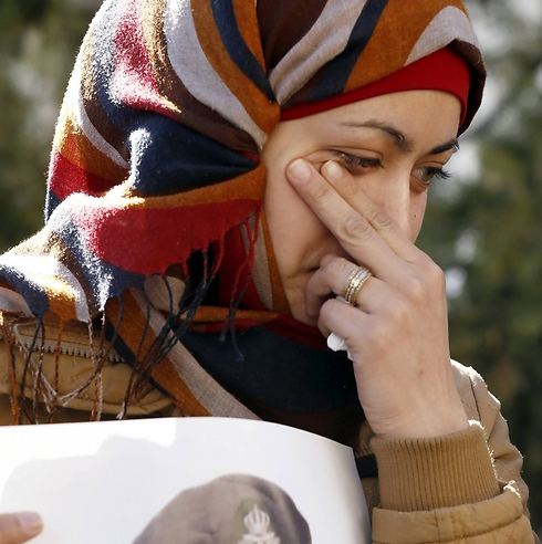 Wife of Jordanin pilot executed by Islamic State group. (Photo: Associated Press)