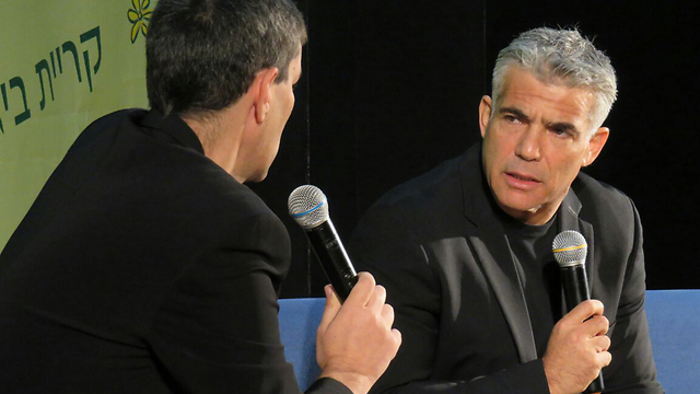 Lapid at cultural event, Saturday