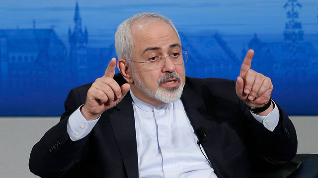 Iranian Foreign Minister Zarif (Photo: AP)