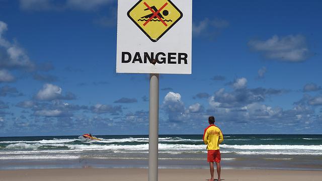 חוף ים באוסטרליה. ארכיון (צילום: EPA)