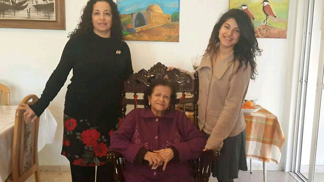 Tzlil Kapash with grandmother, Rachel, and mother, Limor. They say female representation would not change their vote