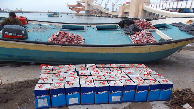 Gaza-bound boat caught by navy. (Photo: IDF Spokesman's Unit)