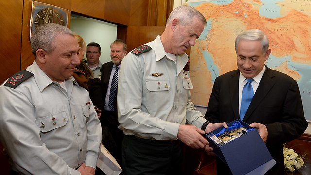 Eisenkot replaces Gantz.as IDF chief of staff. (Photo: Avi Ohayon/GPO)