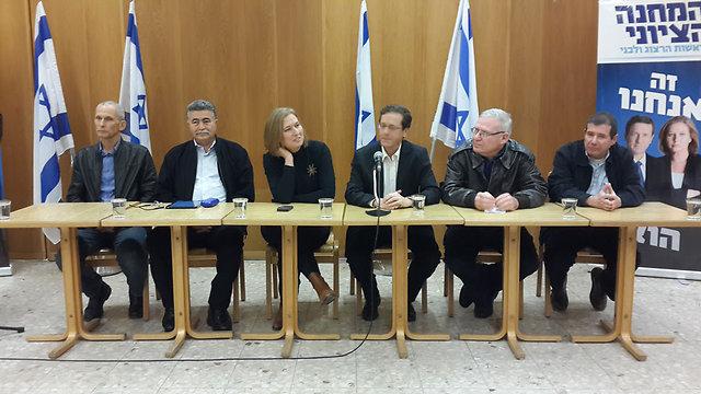 Zionist Union defense team (Photo: Roei Idan)