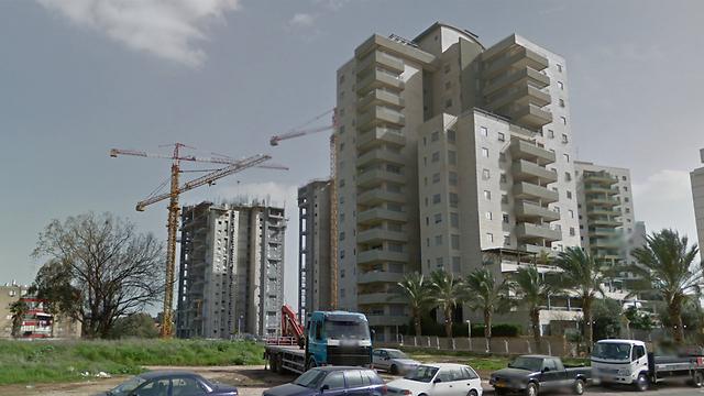 אור יהודה. מחירי הדירות נמוכים בכמעט 60% מאלה שבגני תקווה (צילום: google street view)