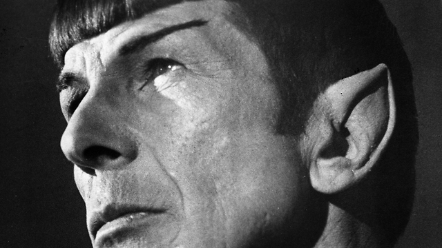 Nimoy in his Mr. Spock makeup (Photo: Gettyimages)