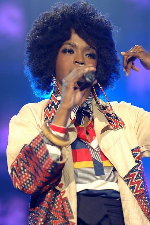 Lauryn Hill. 'It is very important to me that my presence or message not be misconstrued, or a source of alienation to either my Israeli or my Palestinian fans' (PR photo)