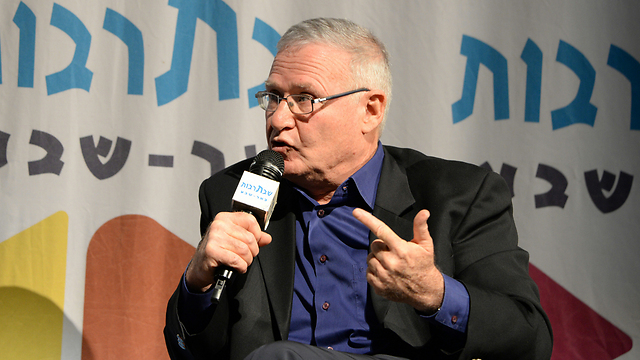 Zionist Camp candidate for defense ministry Amos Yadlin (Photo: Herzl Yosef)