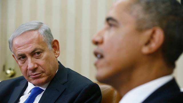 Netanyahu and Obama at the White House, September 2013 (Photo: AP)