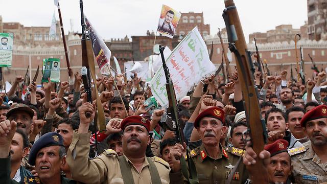 Houthi rebels in Yemen (Photo: AP)