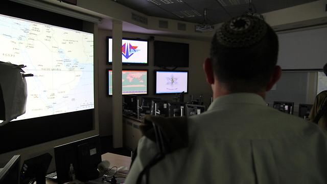 The control room (Photo: Eli Segal)