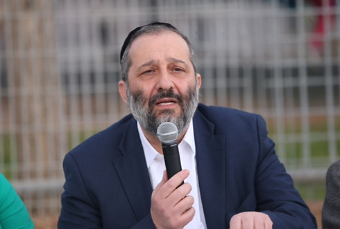 "Deri: ""Incident was an act of terrorism"" (Photo: Motti Kimchi)"
